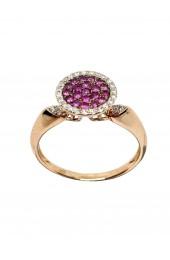 WDG anello con rubini art wdg07