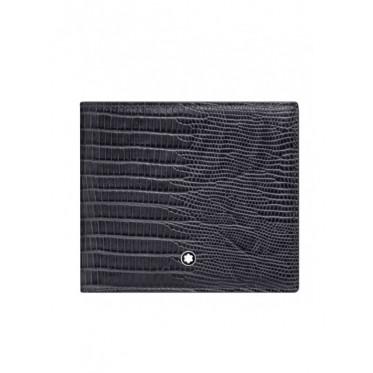 MONTBLANC portafoglio stampa coccodrillo art mo31
