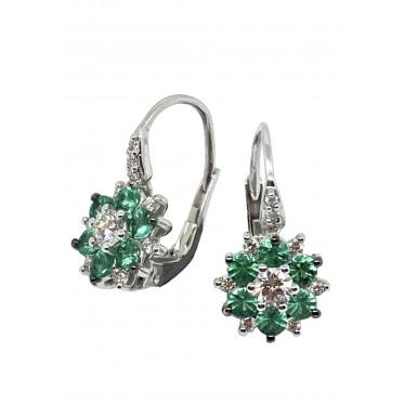 RECARLO orecchini smeraldi art r116