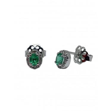 GIORGIO VISCONTI orecchini smeraldo art gv18