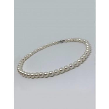 GIORGIO VISCONTI collana di perle art gv37