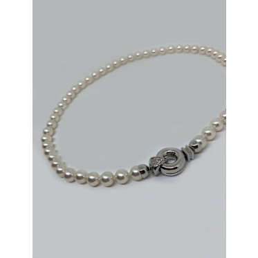 RECARLO collana di perle art r145