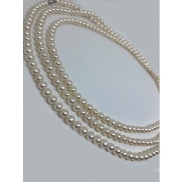 GIORGIO VISCONTI collana di perle art gv41