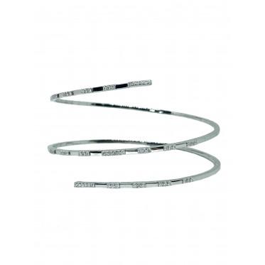 GIORGIO VISCONTI bracciale a spirale art gv33