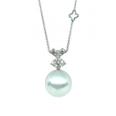 RECARLO girocollo con perla art r167