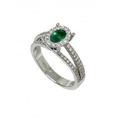 GIORGIO VISCONTI anello smeraldo art gv02