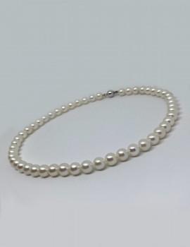 GIORGIO VISCONTI collana di perle art gv38