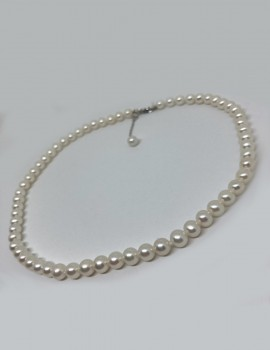 GIORGIO VISCONTI collana di perle art gv40