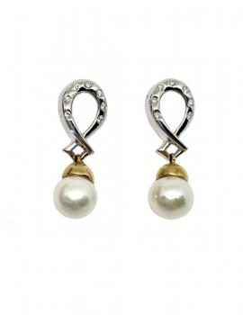 STROPPIANA orecchini con perle art st29