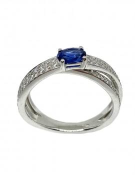 GIORGIO VISCONTI anello con zaffiro art gv14