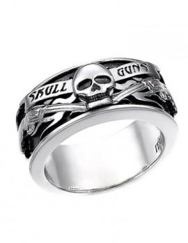 ZANCAN anello skull art z01